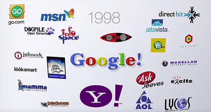تونل زمان: با تاریخچه موتورهای جستجو آشنا شوید